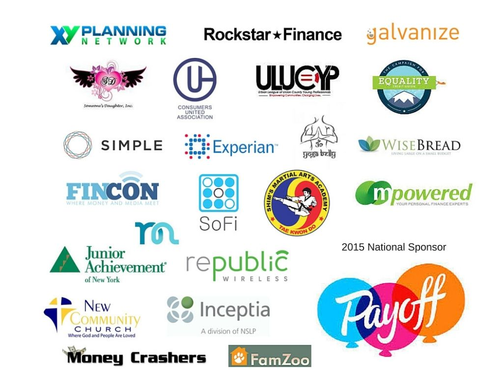 Road to Financial Wellness Sponsors 2015
