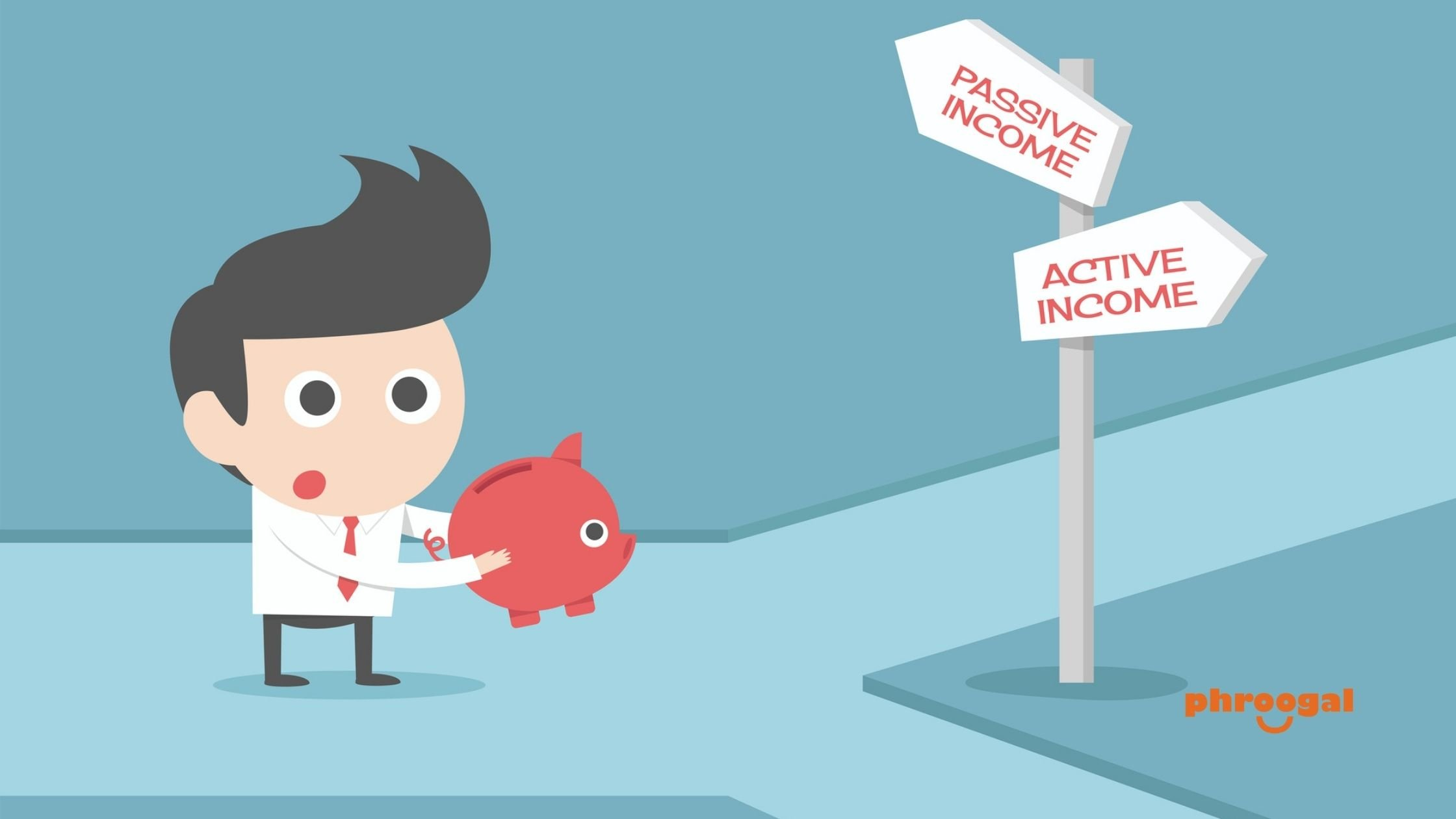 Difference Between Active Income and Passive Income