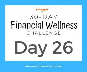 Day 26: Managing Money (30 Day Financial Wellness Challenge)