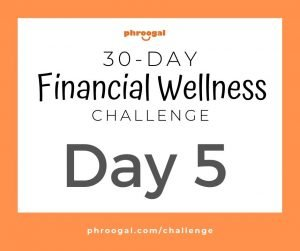 Day 5: Your Savings Rate (30 Day Financial Wellness Challenge)