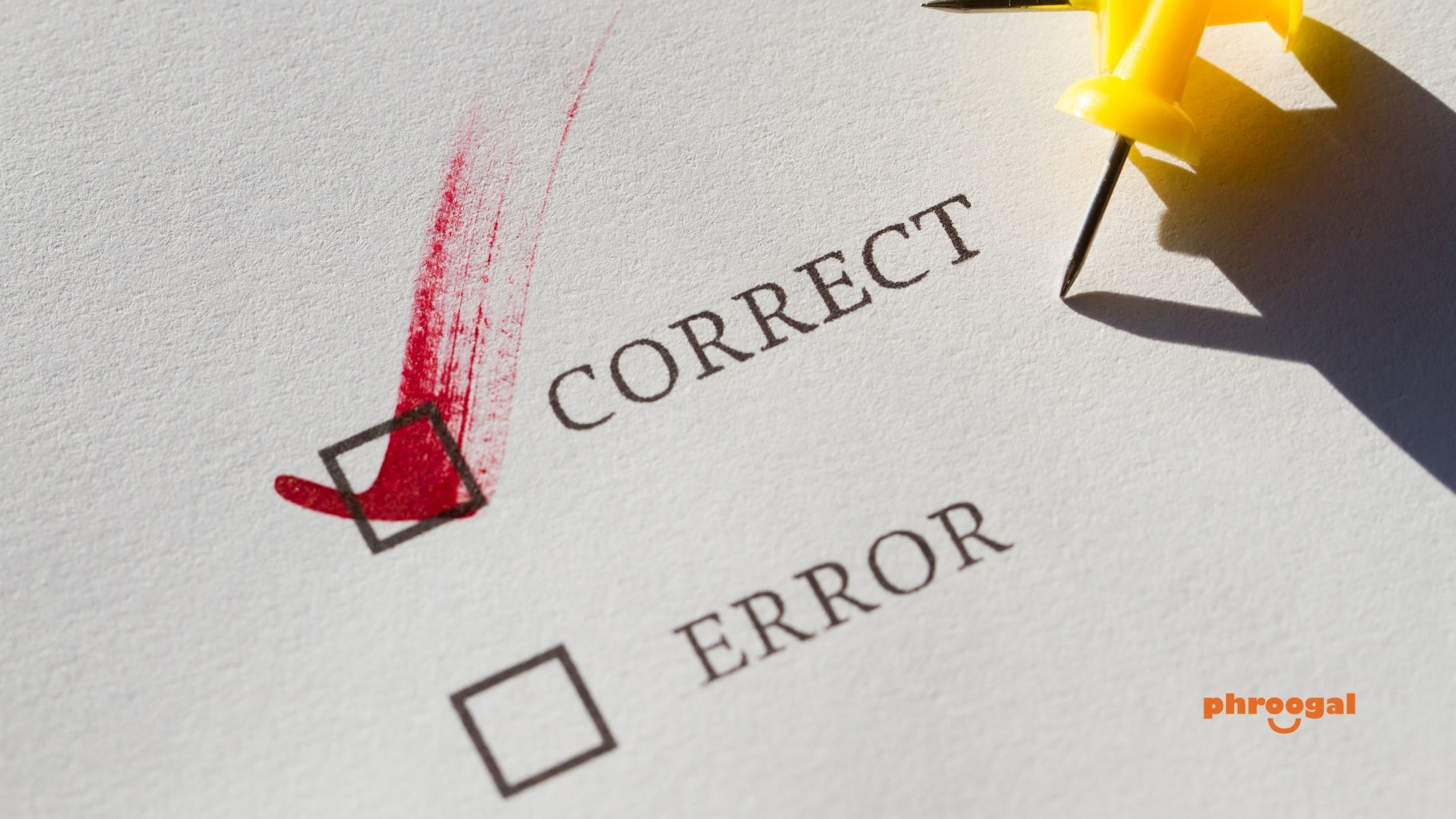 Correct Errors on Your Credit Report phroogal