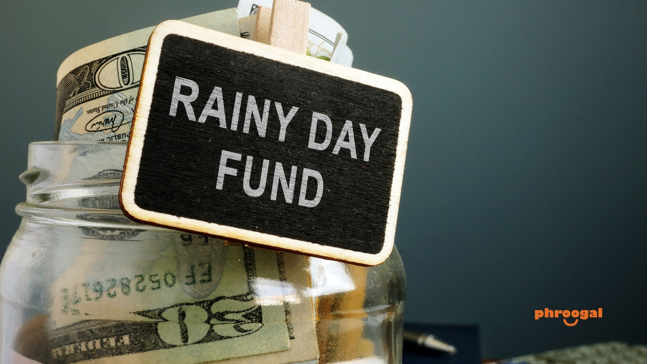 How to Start a Rainy Day Fund phroogal