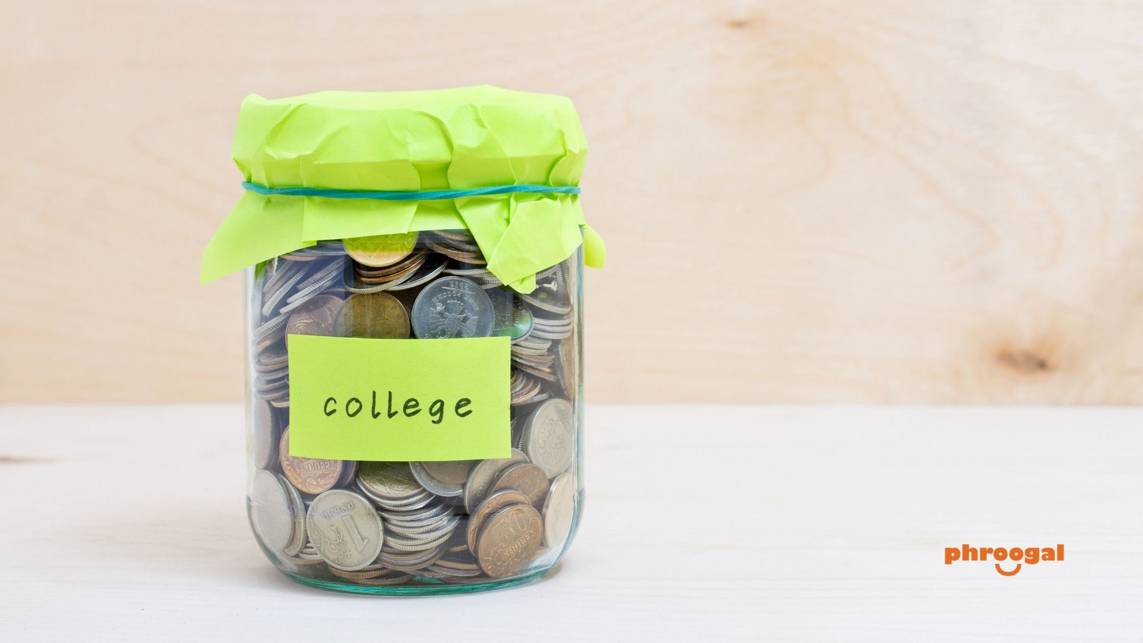How to Pay for College phroogal