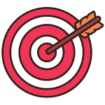 set financial goals manage money icon