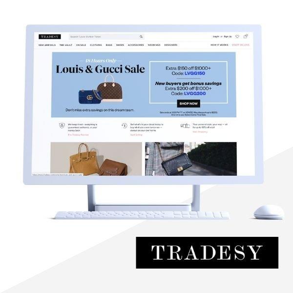 Tradesy Designer Marketplace phroogal